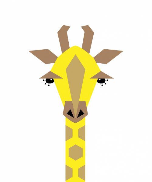 Giraffe Illustration Clipart