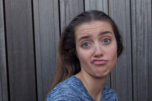 grimace girl teen