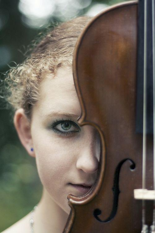 girl image violin