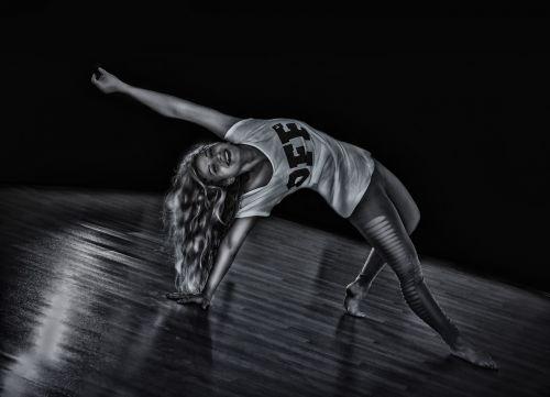 girl dance woman