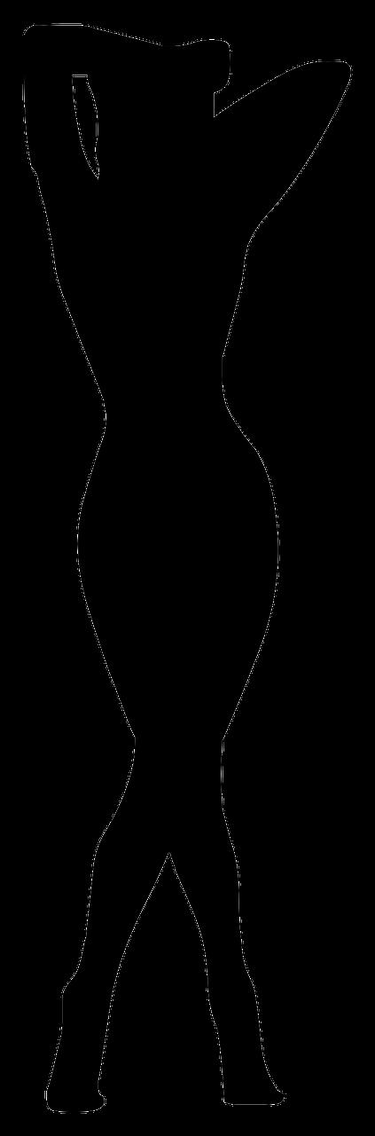 girl silhouette person