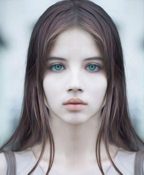eyes beauty girl