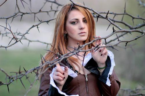 girl thorns sensual