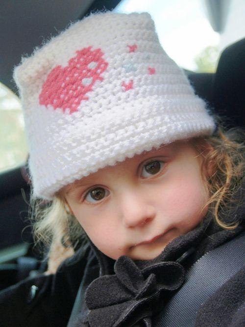 girl little brown eyes