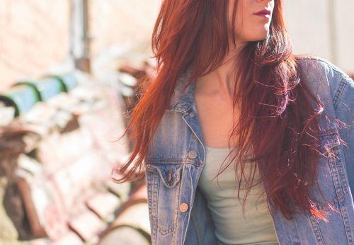 girl hair redhead