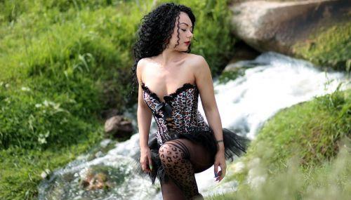 girl water sensual