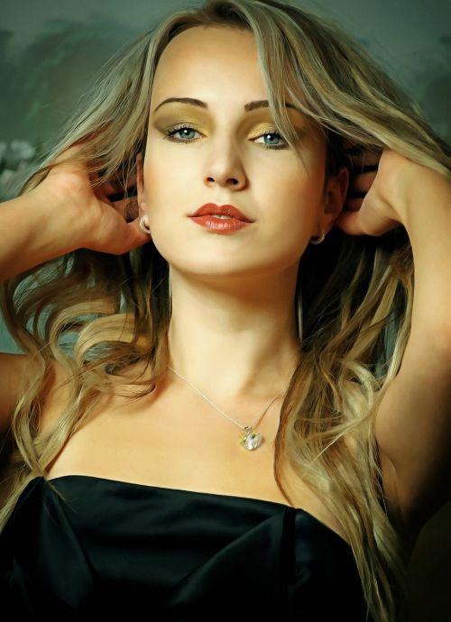 girl portrait figure