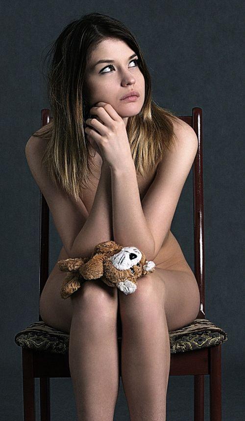girl thoughtfulness sadness