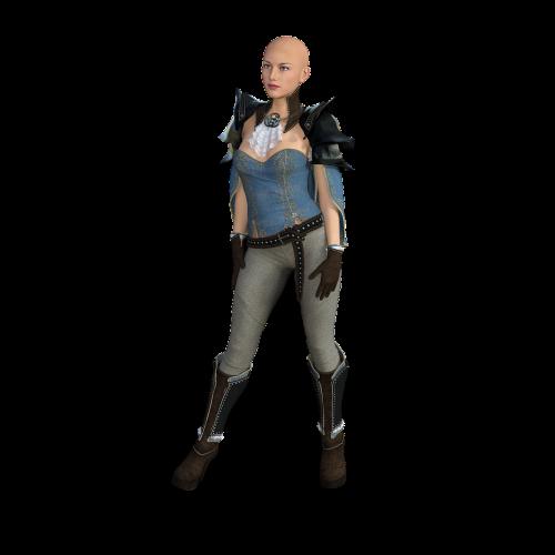 girl sci-fi woman