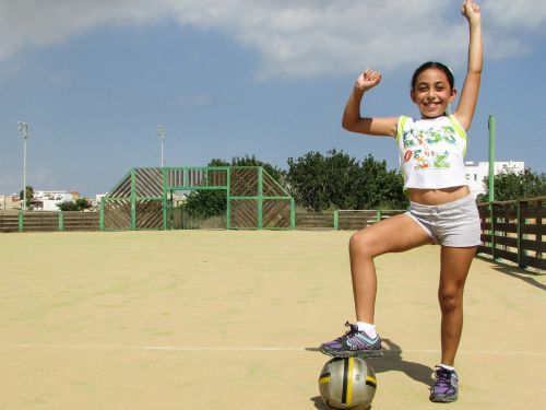 girl footballer success