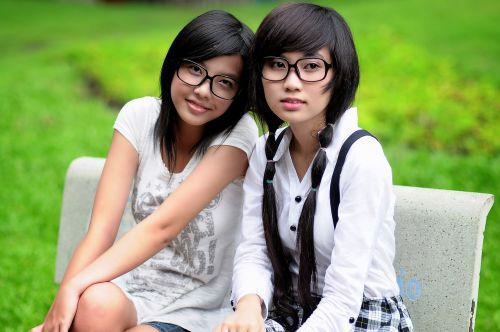girl student asian
