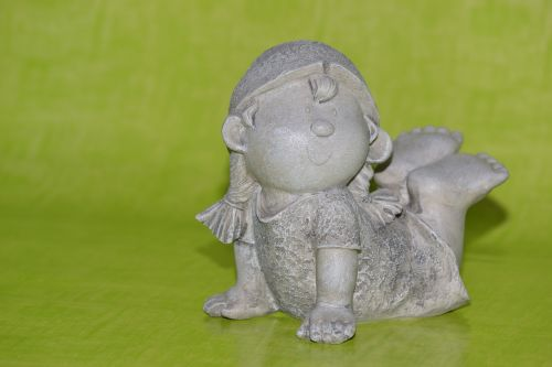 girl ceramic imp