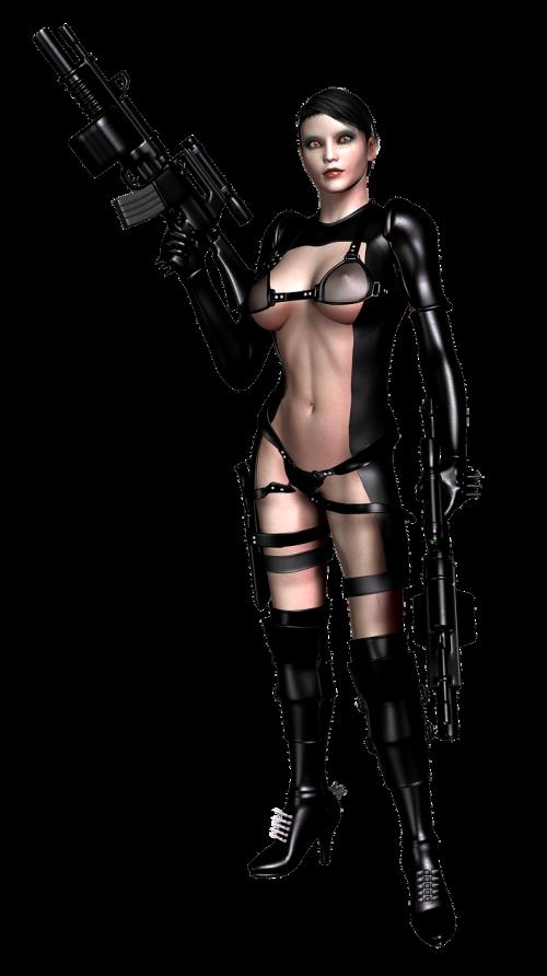 girl guns sexy