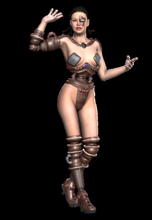 girl cyborg fiction