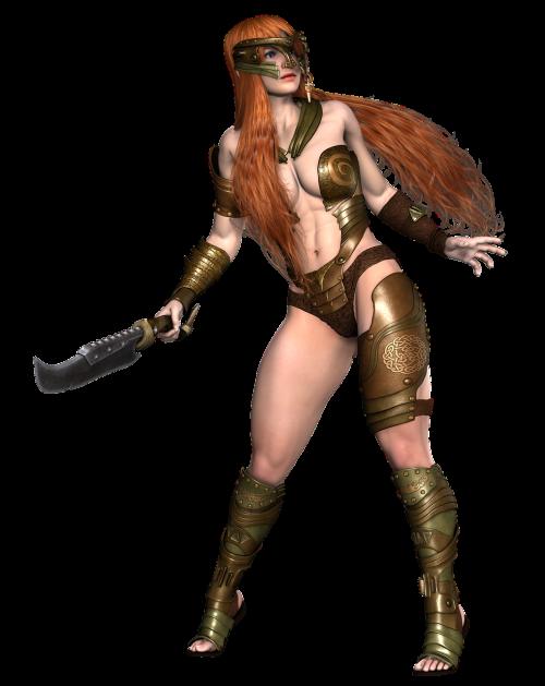 girl warrior fantasy
