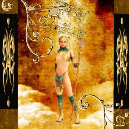 mergaitė,gražus karys,pergalingas,auksinis,sugrįžo stiprus,išaukštintas,legenda,fantazija