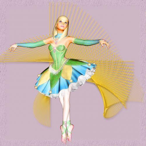 girl beautiful ballet dancer