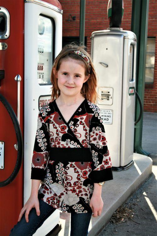 girl gas tank posing