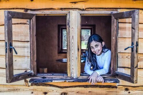 girl window child