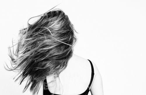 girl hair mind