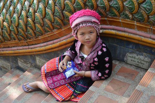 girl sad hmong
