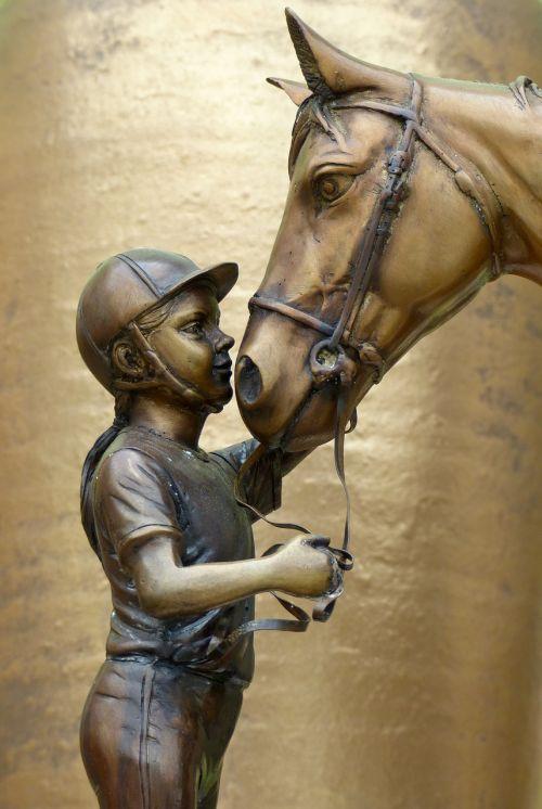 girl horsewoman horse