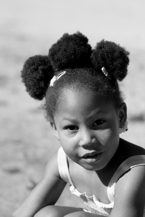 girl child hair