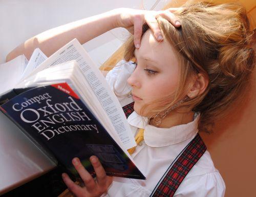 girl english dictionary