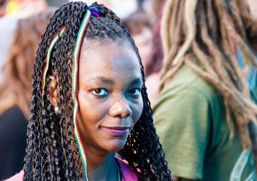 girl rasta reggae