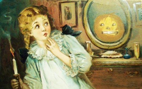 girl child vintage