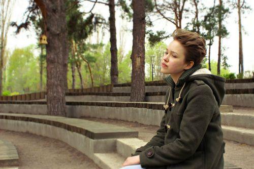 girl teen park