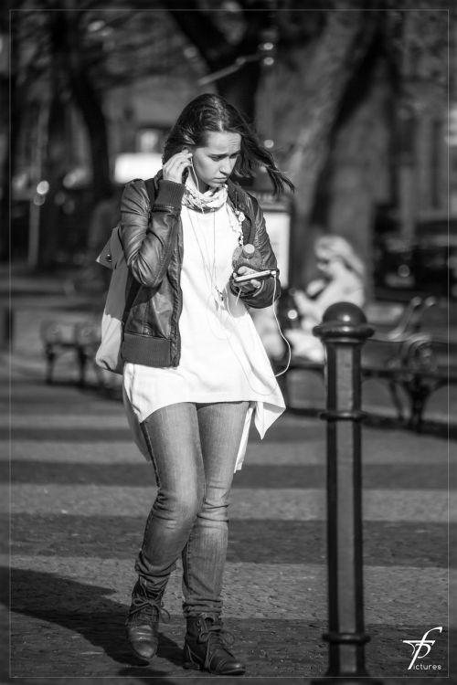 girl woman street life