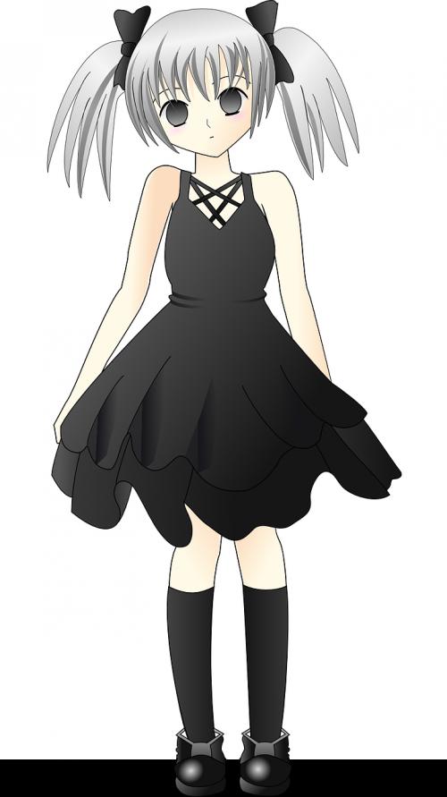 girl cartoon cute