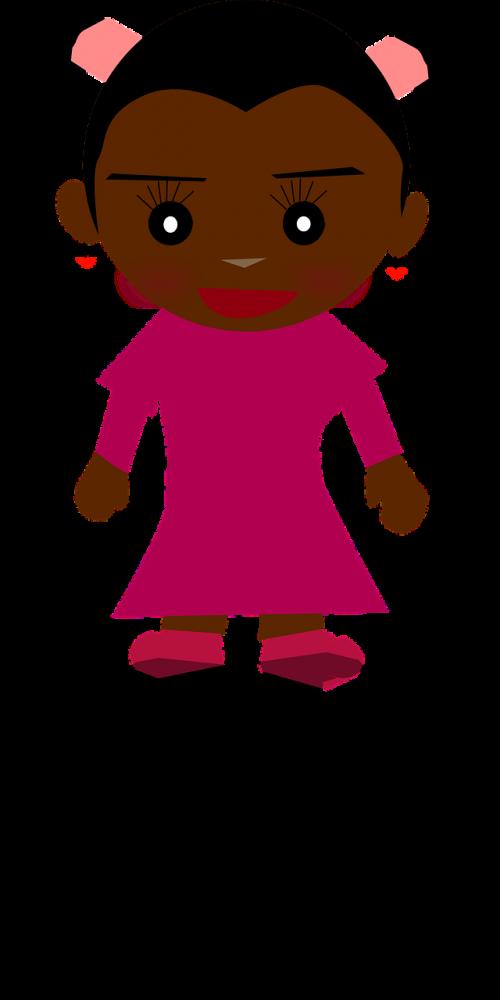girl smile shadow