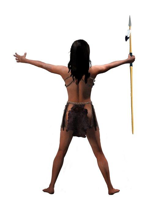 girl  warrior  woman