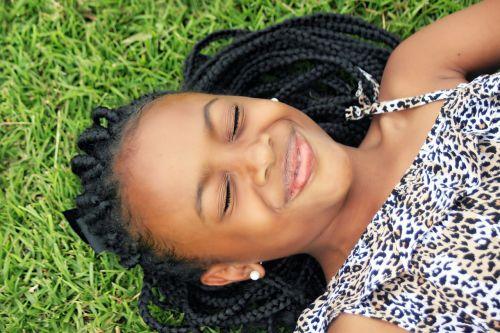 girl face african girl