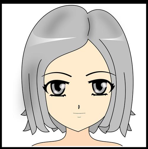 girl  manga  drawing
