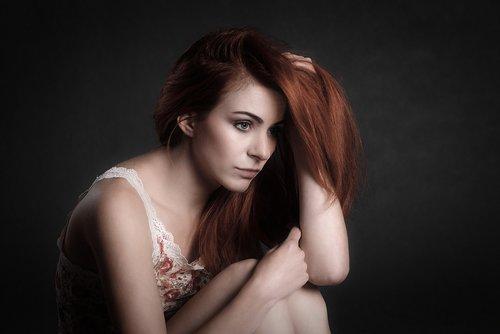 girl  woman  depression
