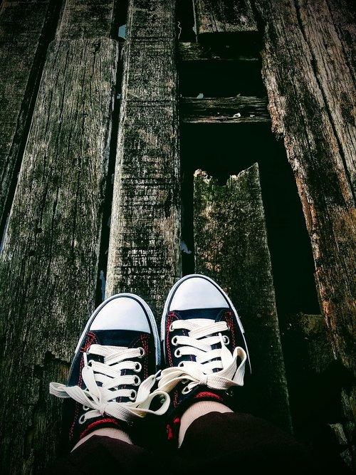 girl  shoe  leg