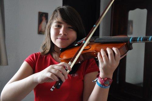 girl  music  violin