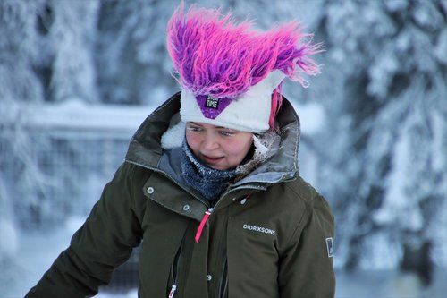 girl  she  lapland