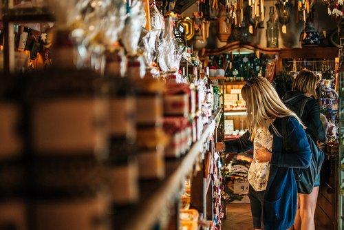 girl  woman  shop
