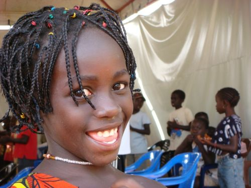 girl african guinea