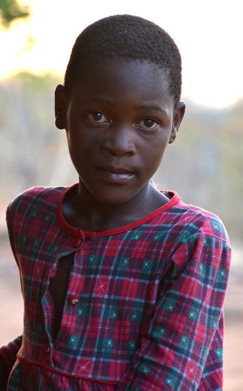 girl africa zimbabwe