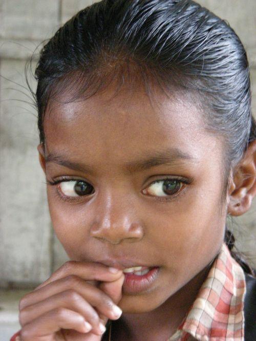 girl thoughtful india