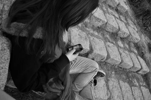 girl mobile smartphone