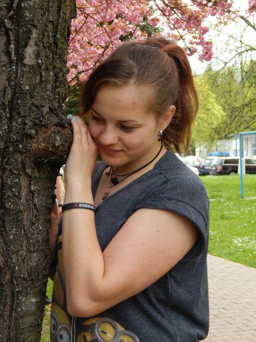 girl tereza spring