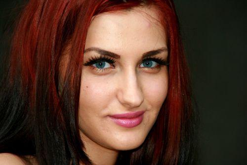 girl seduction red hair