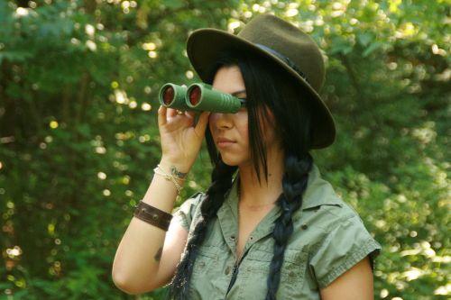 girl expedition binoculars