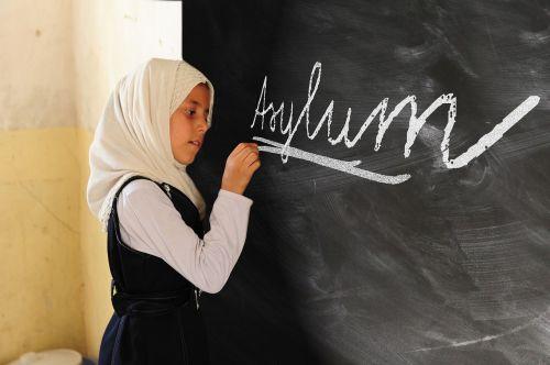 girl asylum politically